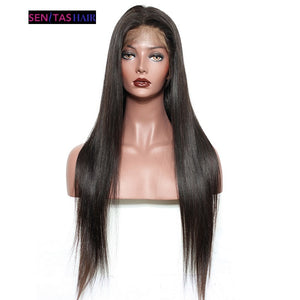 Silky Straight 180% Density Lace Wigs Promo