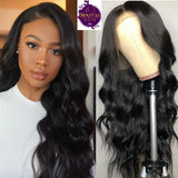 Frontal Lace Wig Body Wave 100% Virgin Human Hair Wig on Sale 180% Density