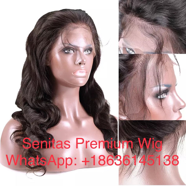 360 FRONTAL FULL LACE WIG - SuperWavy