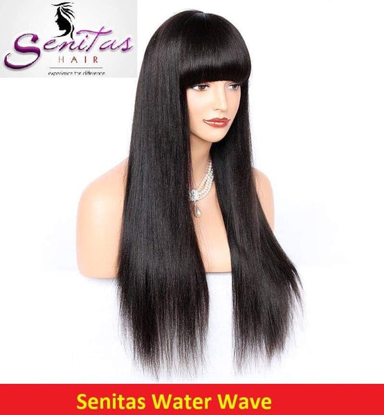 Full Lace Wig Straight  - 100% Human Remy Virgin Hair - Senitas Virgin Hair Extension and Wigs