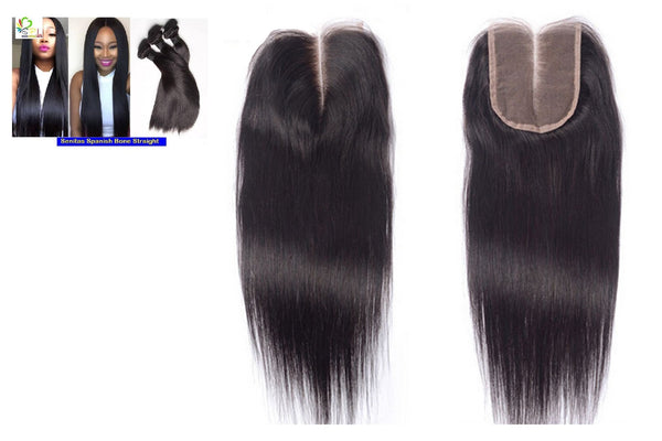 SPANISH STRAIGHT Top CLOSURE 1 - Senitas Virgin Hair Extension and Wigs