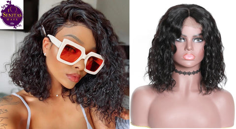 Full Lace Wig Wet and Wavy 100% Unprocessed Virgin Human Hair Wig on Sale 180% Density