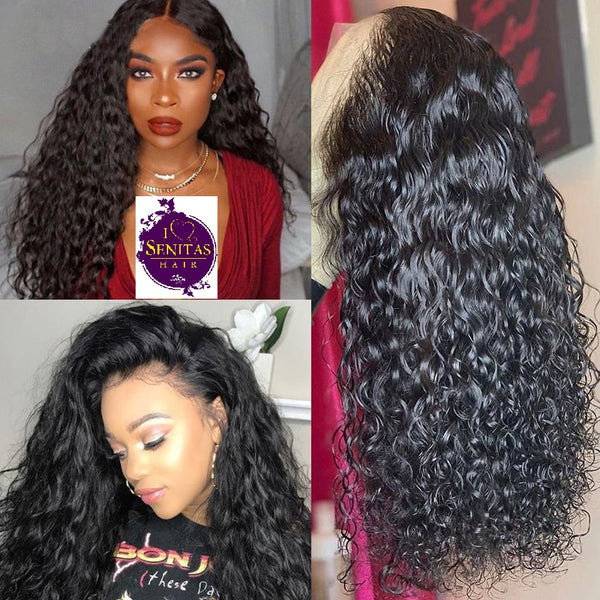 Full Lace Wig Curly Water Wave - HOT SALE