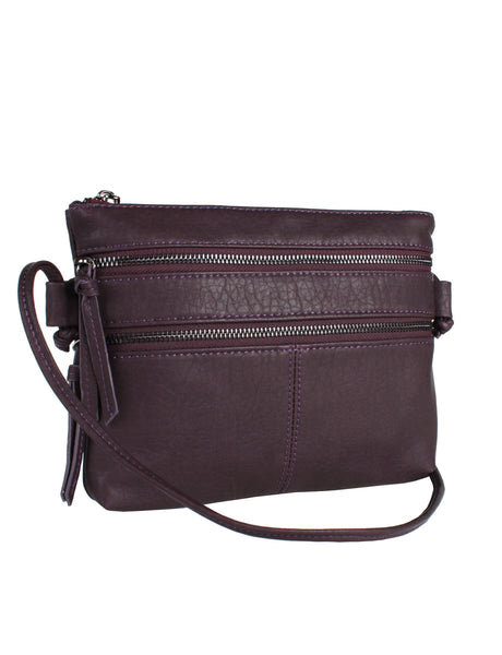 CO-LAB Pebble Zip Crossbody