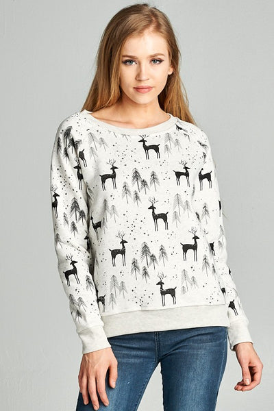 Exposure Winter Deer Sweatshirt