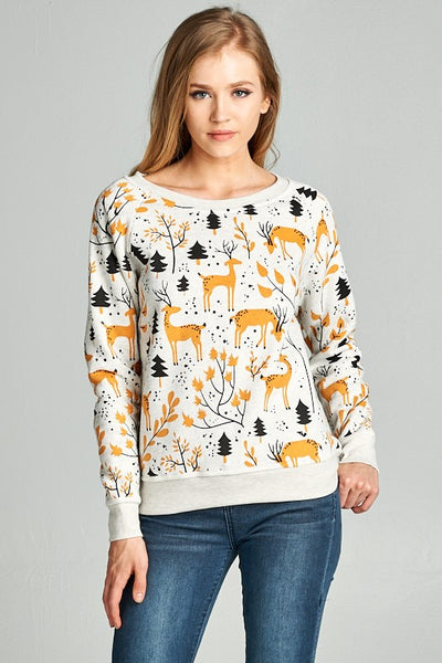 Exposure Yellow Deer Sweatshirt