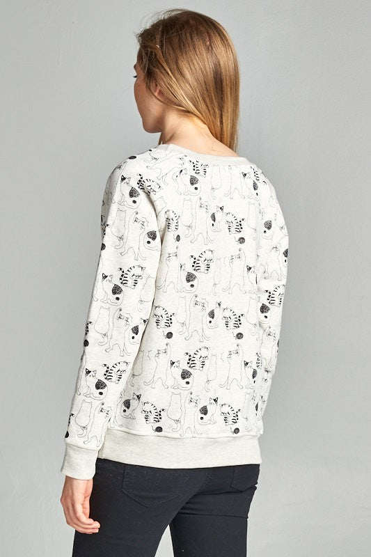 Exposure All Over Cat Sweatshirt