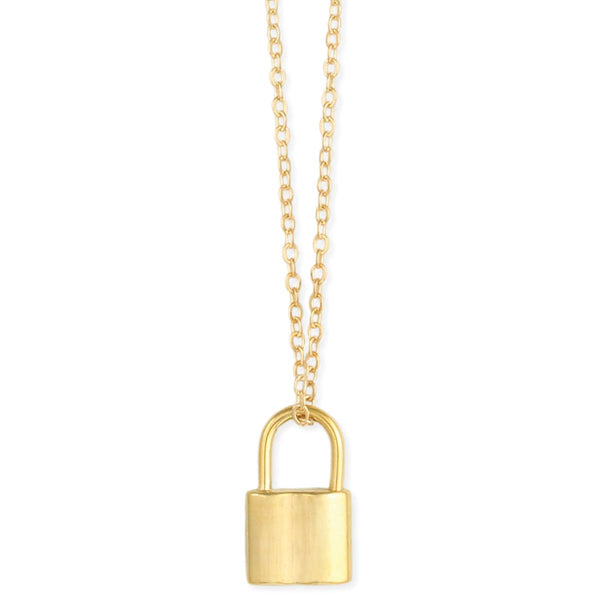 ZAD Baby Padlock Necklace