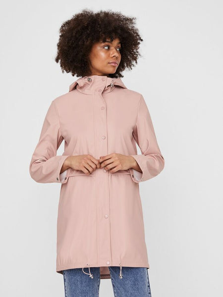 Vero Moda Everyday Coated Jacket Rose