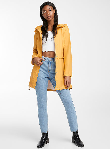 Vero Moda Everyday Coated Jacket Yellow