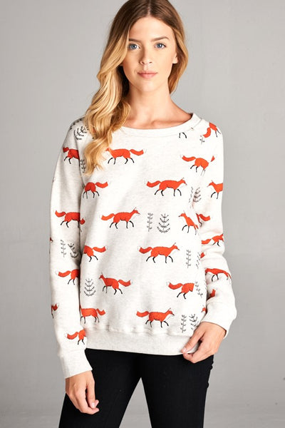 Exposure Red Fox Sweatshirt