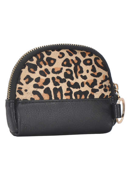 Exposure Leopard Print Coin Purse