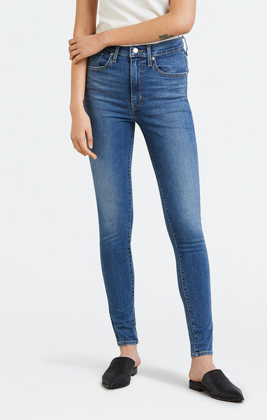 Levi's Mile High Super Skinny Indigo Lounge