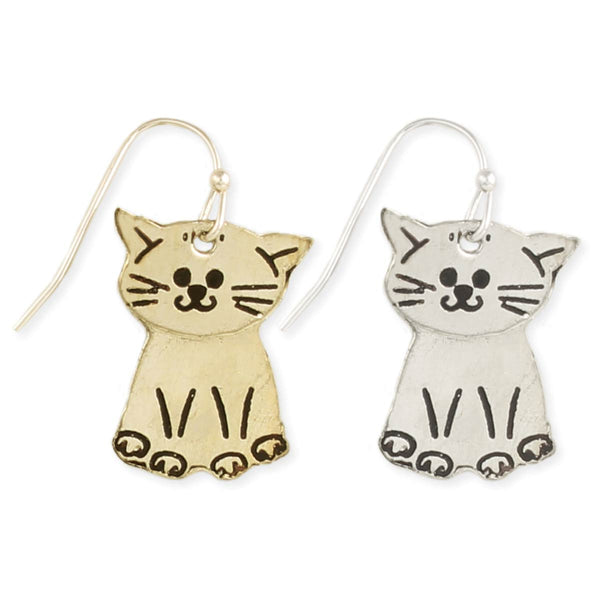 ZAD Moving Cat Earrings