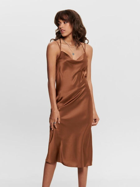JDY Perfect Satin Strap Dress