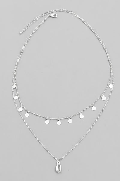 Exposure Shell Layers Necklace