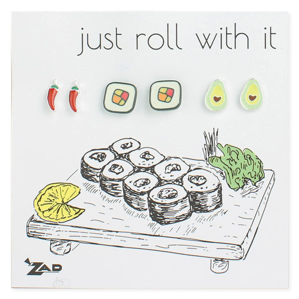 ZAD Sushi Earring Set
