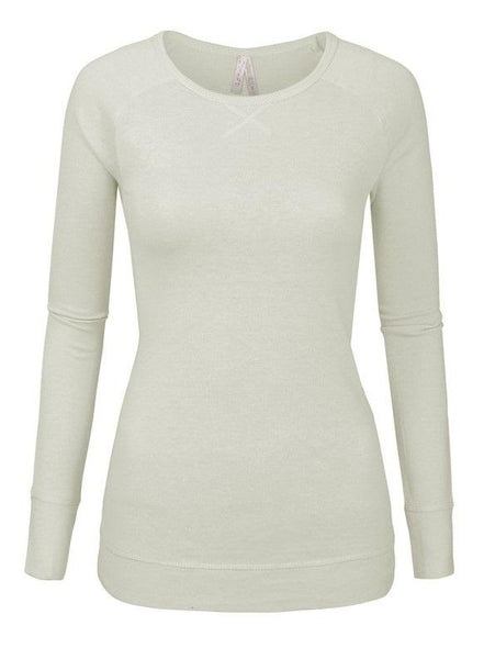 Exposure Fitted Cotton Blend Sweater Top