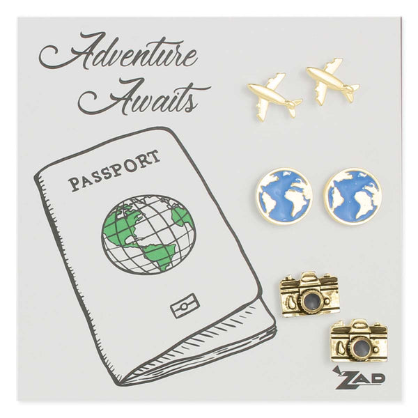 ZAD Travel Earring Set