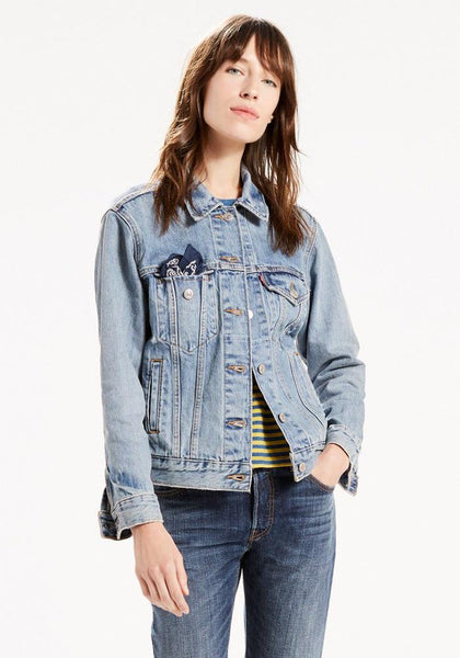 Levi's Ex-Boyfriend Trucker Denim Jacket