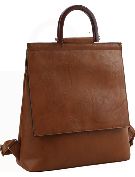 Exposure Wood Handle Convertible Backpack