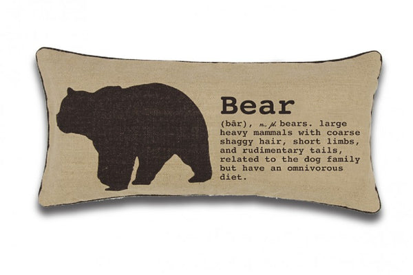 Exposure Bear Cushion