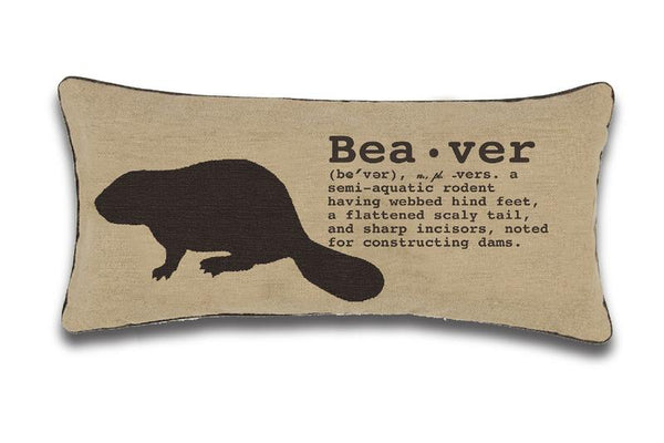 Exposure Beaver Cushion
