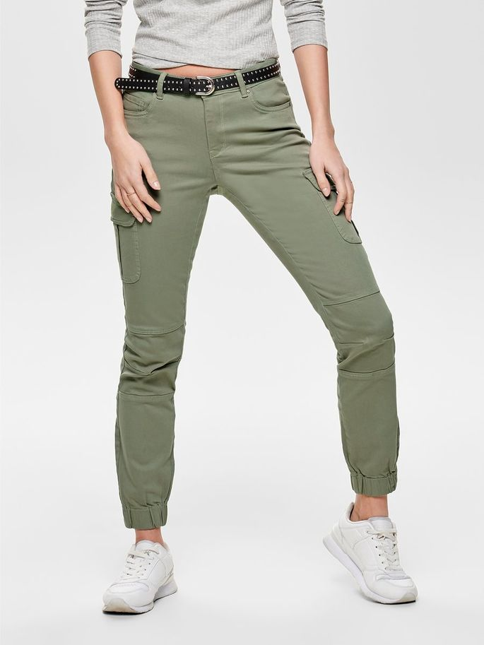ONLY Cotton Missouri Ankle Cargo Pant