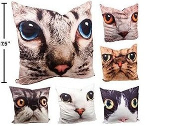 Exposure Cat Face Cushion