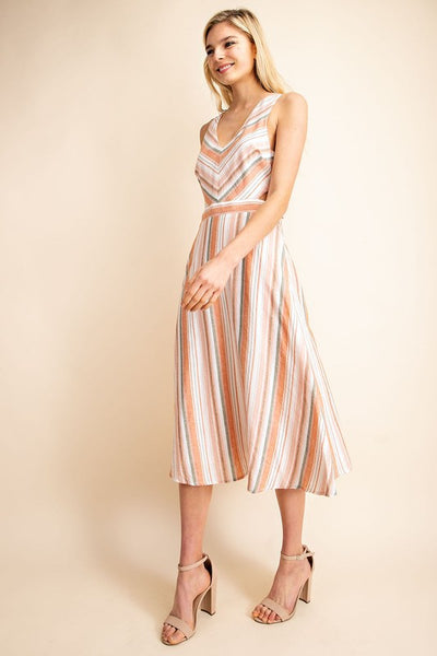 Gilli Cotton Summer Midi Dress