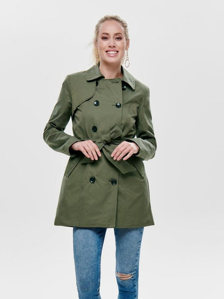 ONLY Cotton Laura Long Trenchcoat