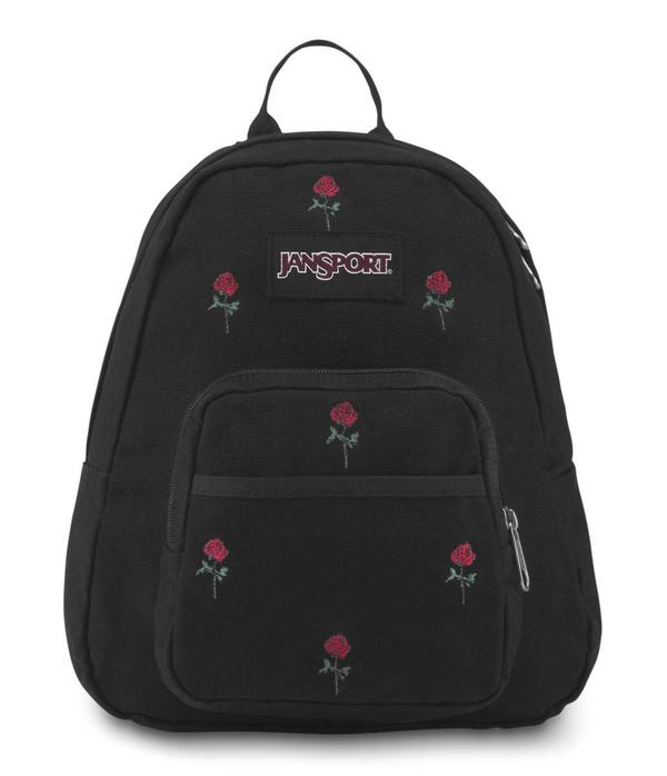 Jansport Half Pint Backpack Embroidered Roses