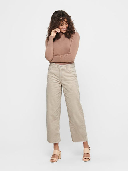 JDY Kira Life High Wide Ankle Pant