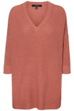 Vero Moda Leanna 3/4 V-Neck Long Blouse