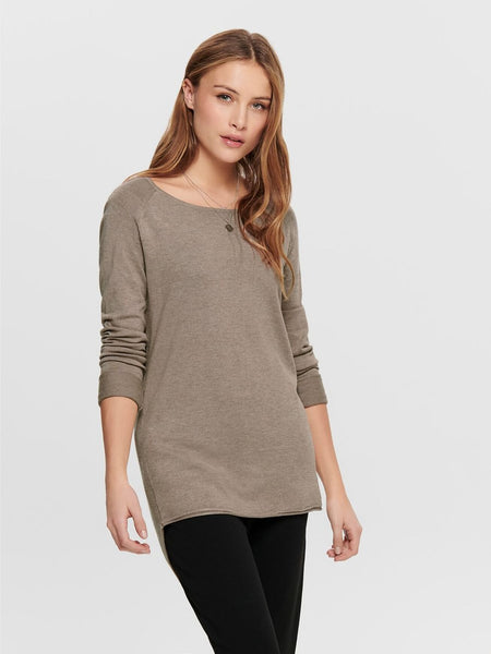 ONLY Mila Lacy LS Long Pullover