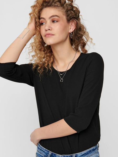 ONLY Nova Lux 3/4 Sleeve Top