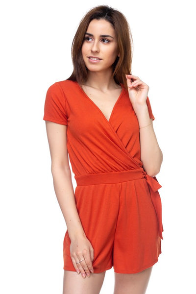Exposure Surplice Romper