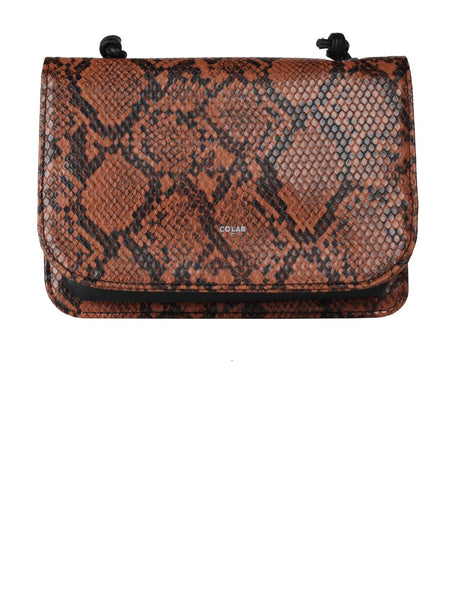 CO-LAB Faux Snake Organizer Crossbody