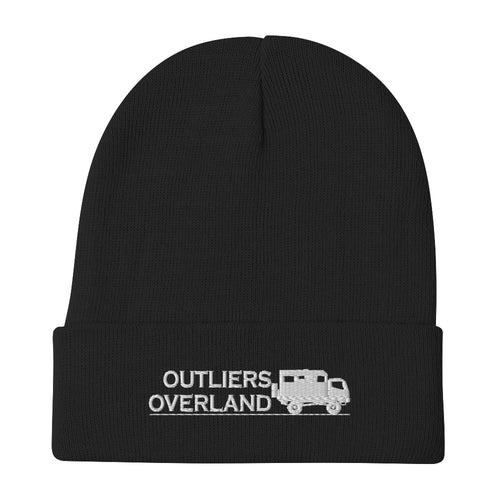 Outliers Overland Embroidered Beanie