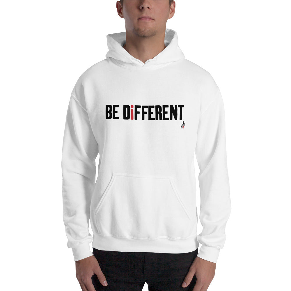 Be Different Unisex Hooded Sweatshirt