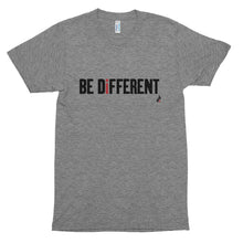Be Different Unisex Short Sleeve Soft Tri-blend T-shirt