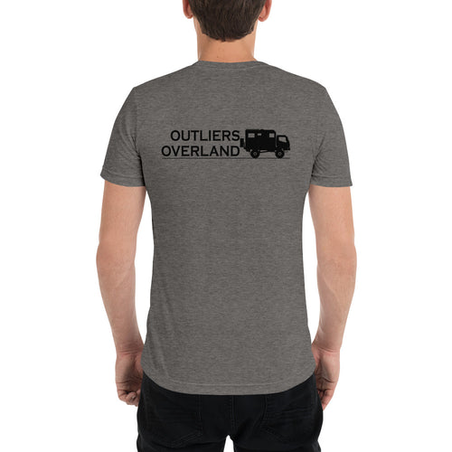 Outliers Overland Unisex Tri-Blend Short Sleeve T-Shirt