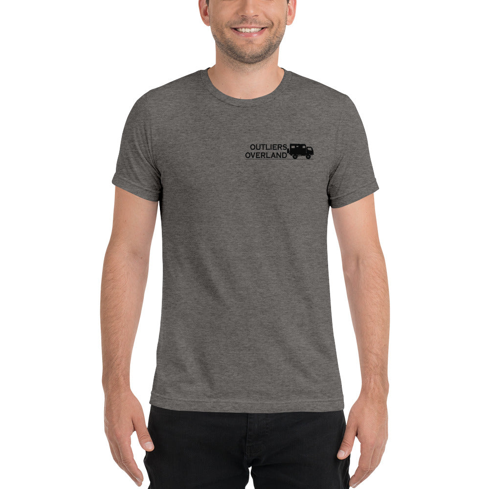Outliers Overland Unisex Tri Blend Short Sleeve T-Shirt