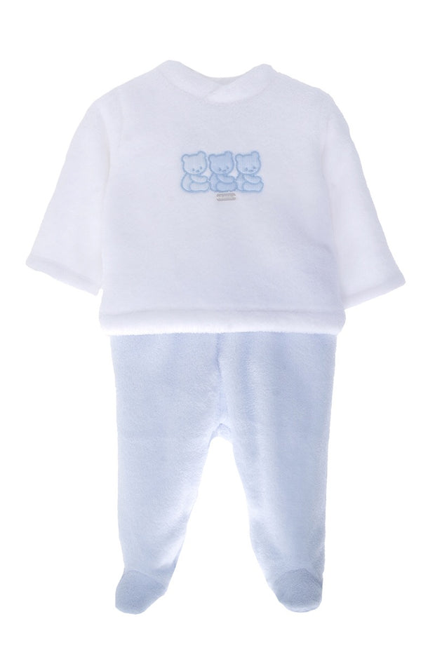 Blue And White Bear Pyjamas