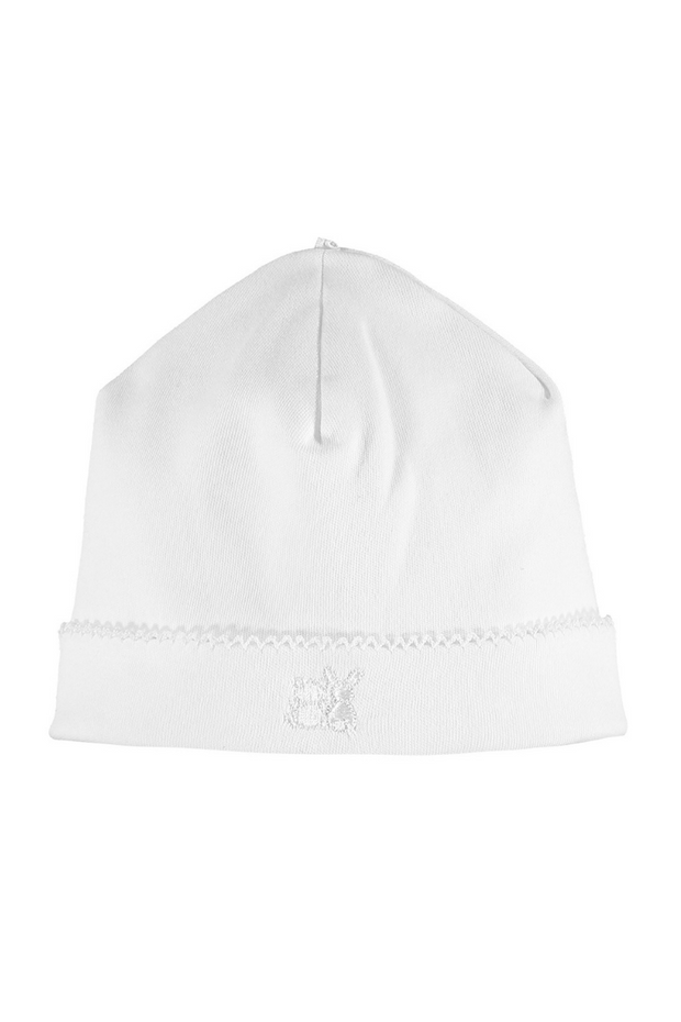 White Embroidered All In One With Hat