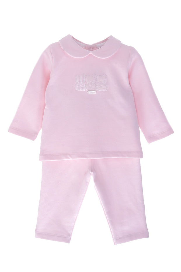 Pink Bear Two Piece