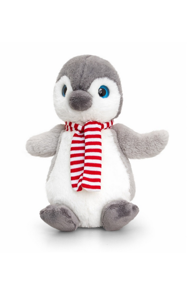 Penguin Teddy With Scarf