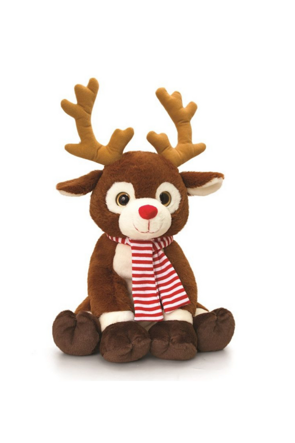 Reindeer Teddy With Scarf