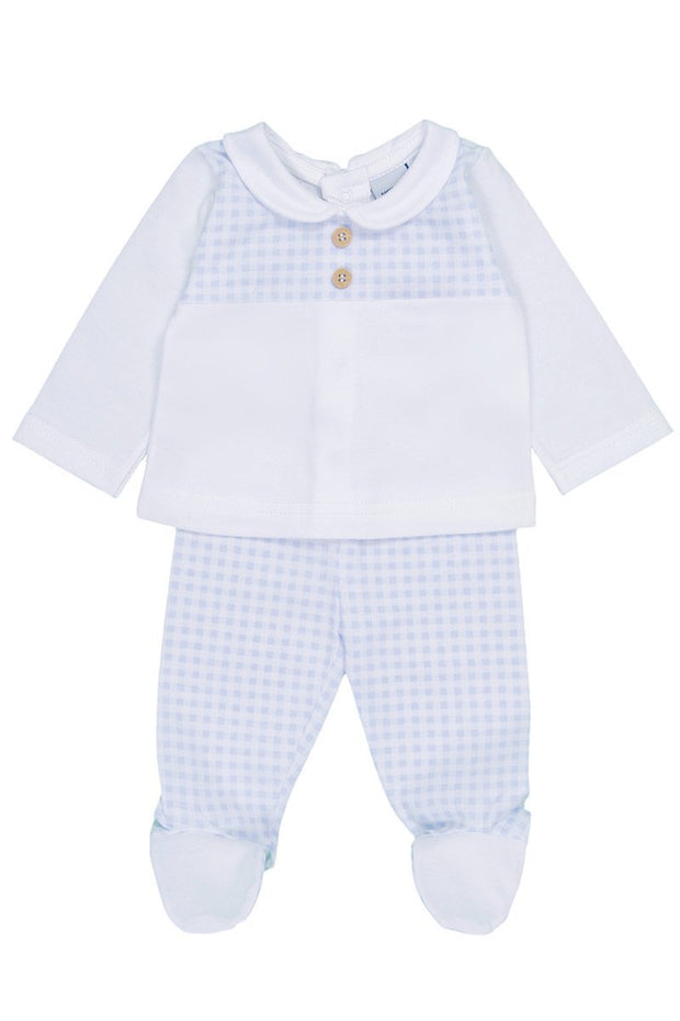 Blue Gingham Outfit - Jacob Matthews