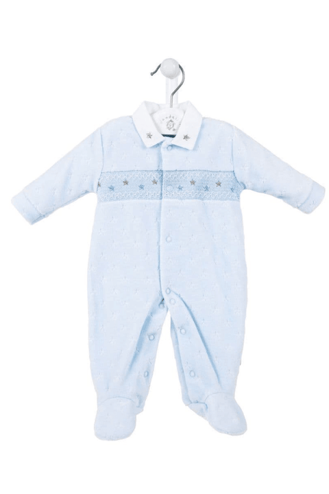 Blue Star Smocked All In One - Jacob Matthews